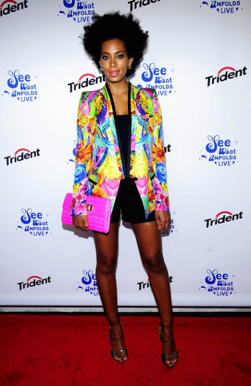 Solange-Knowles-with-a-Roberto-Cavalli-jacket-@See-What-Unfolds-2012-06-20-New-York