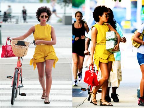 Solange-Yellow-Playsuit